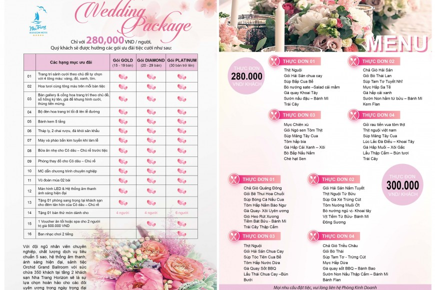 WEDDING PROMOTION